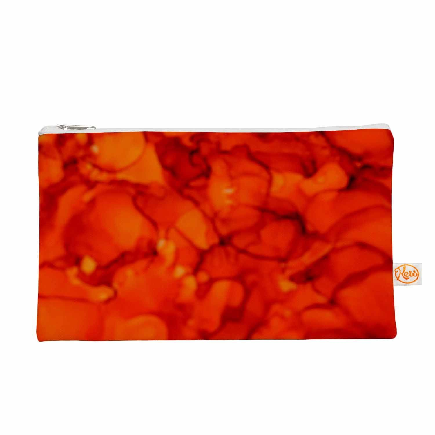 """Claire Day """"Orange"""" Red Everything Bag"""