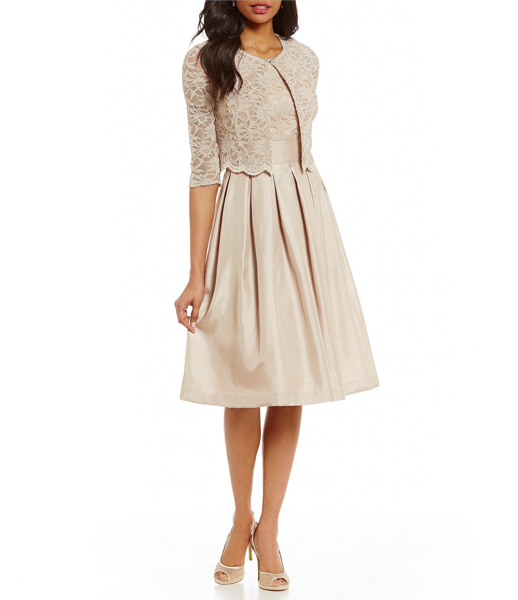 a69a7744b2 Shop for Jessica Howard Petite Lace 2-Piece Jacket Dress at Dillards.com.  Visit Dillards.com to find clothing