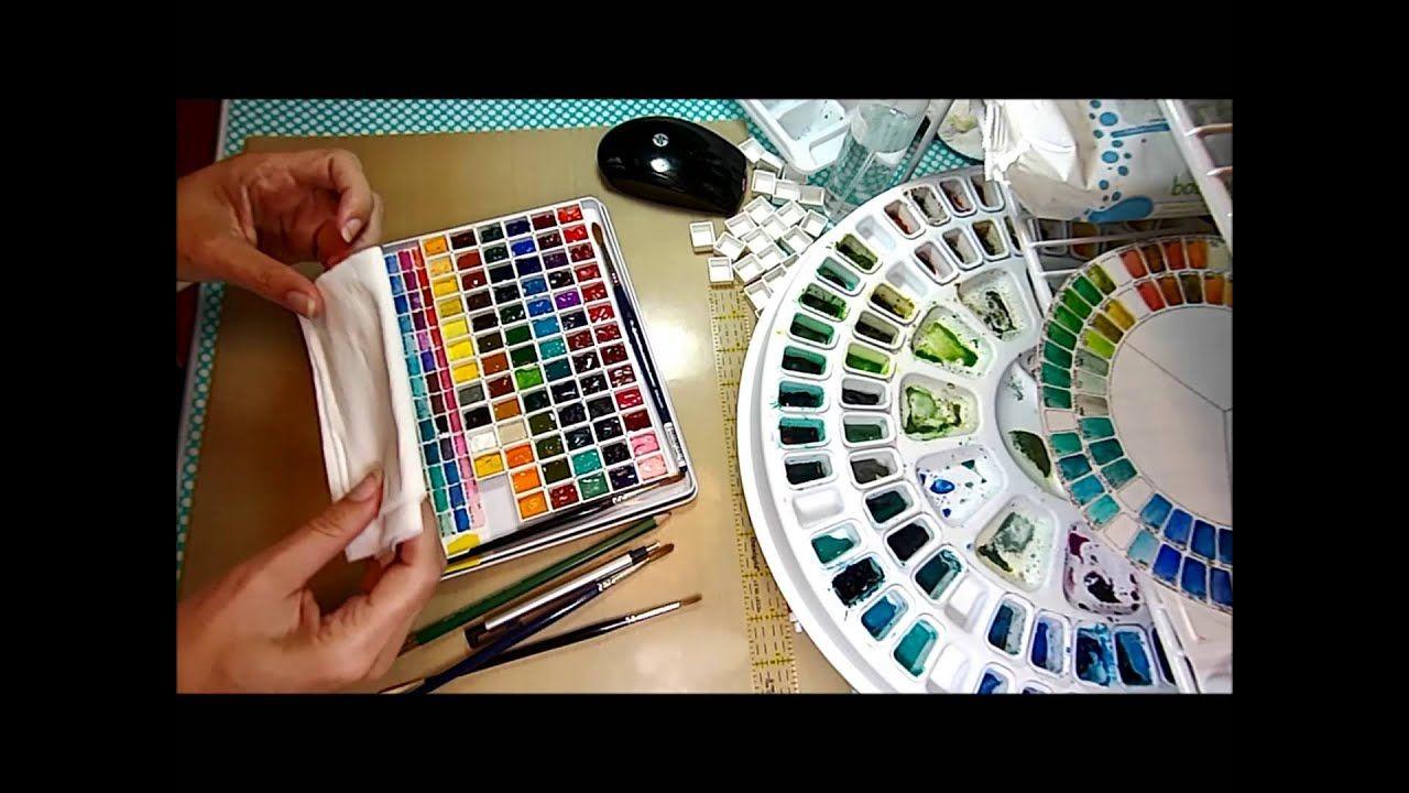 New Mini Watercolor Palette Watercolor Kit Watercolor Paint Set