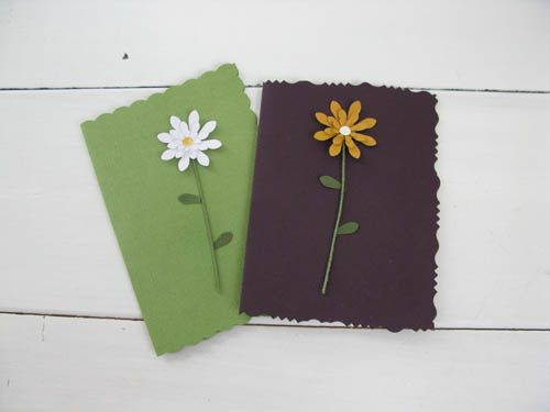 DIY flower greeting cards | Greeting cards, Cards, Card maker