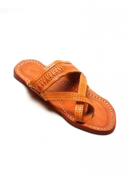 52c8d3a96 Authentic Kolhapuri Chappal Gents ws Gandhi Leather Slippers, T Strap  Sandals, Gandhi, Open