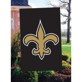 """New Orleans Saints Flag House Bannière 28/"""" X 44/"""" party animal NFL"""