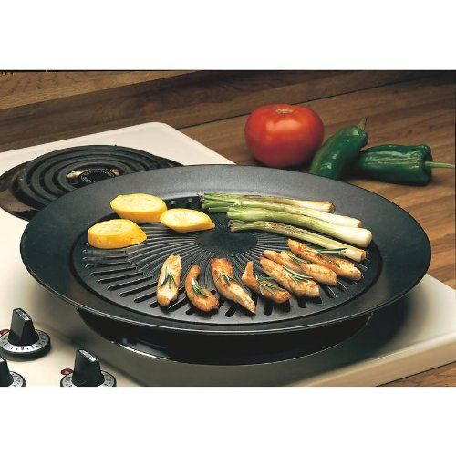 Amazon.com: Smokeless Indoor Stove Top BBQ Grill: Electric Contact ...
