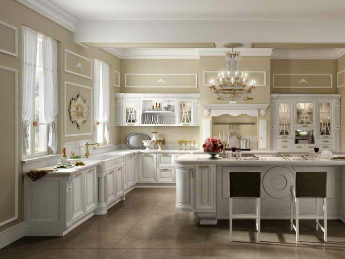 La cuisine style campagne - décors chaleureux vintage - Archzine ...