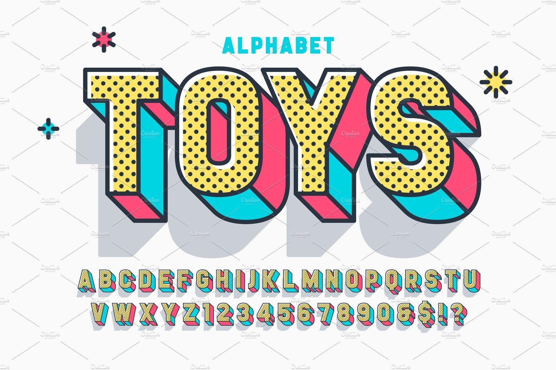 Comic 3d Display Font Design Font Design Alphabet Fonts Design Alphabet Design