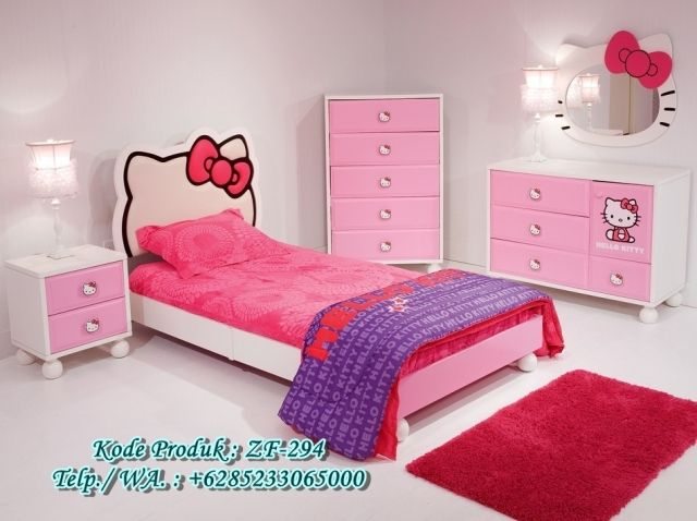 It Is Imaginable So That You Can Observe Hello Kitty Bed Room Decor For  Your Daughter Bed Room. As We All Know Considering That San Rio Introduced  Hello ...