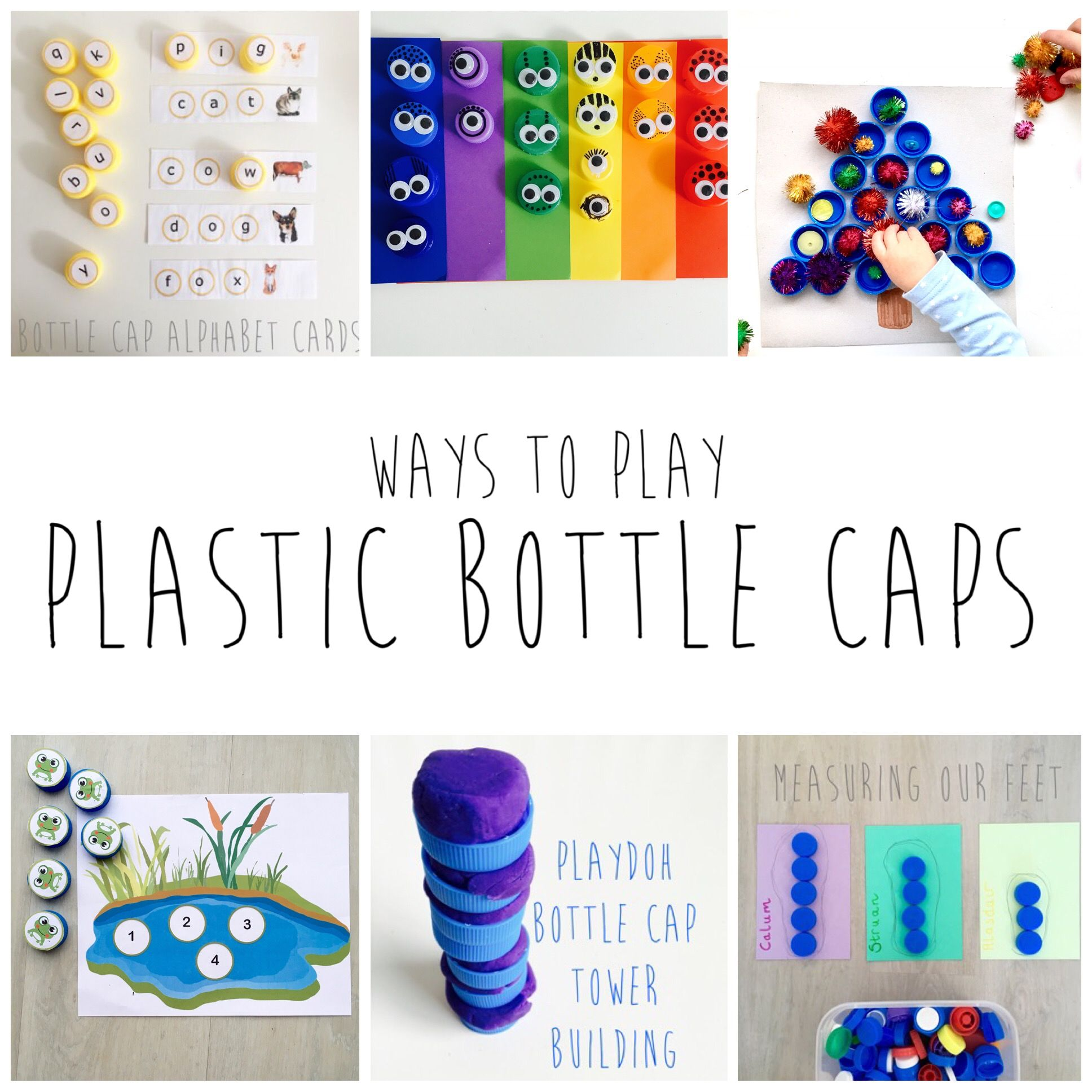 Ways To Play With Bottle Caps