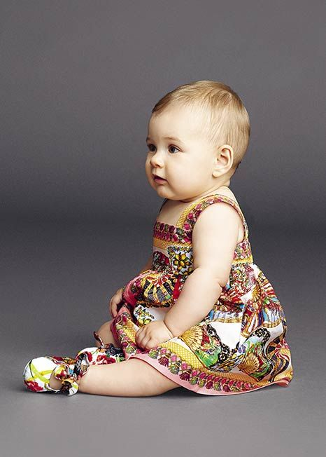dolce and gabbana summer 2015 child collection 17