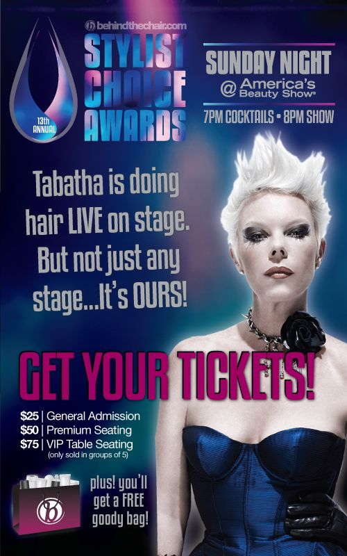 EVERYONE'S GOING! Will you be there?  Get your tickets here... they're going fast!  http://www.behindthechair.com/sca/