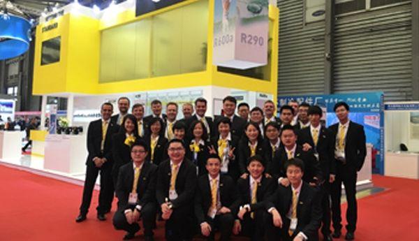 Secop At China Refrigeration 2017 Hvac Spider Refrigerator Basketball Court China