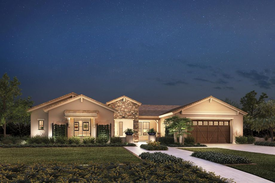 The Solea is a luxurious Toll Brothers