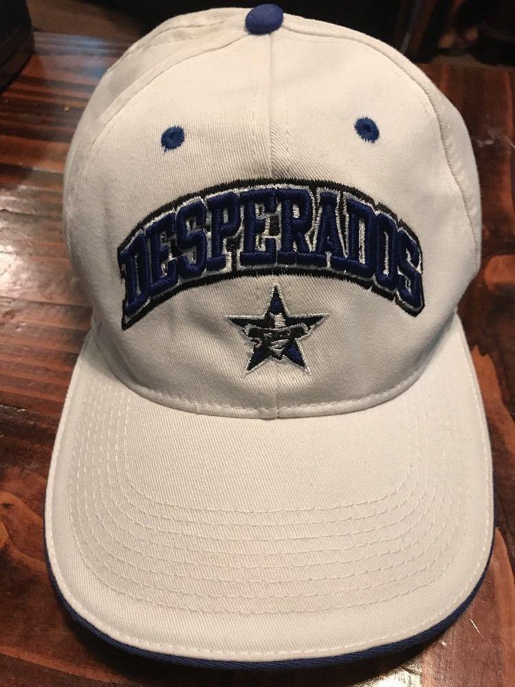 Drew Pearson Nfl Dallas Desperados Hat Cap White Arena Football Ebay Nfl Dallas Arena Football Hats