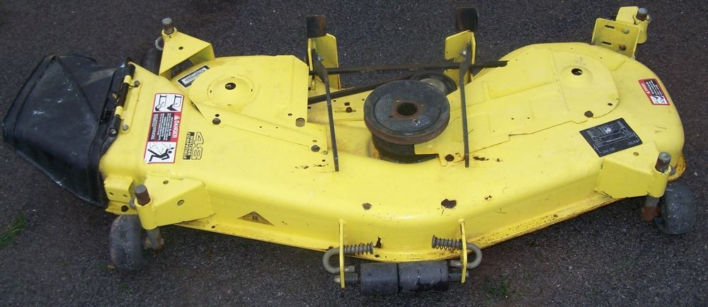 Replacement Mower Decks : John deere replacement mower deck