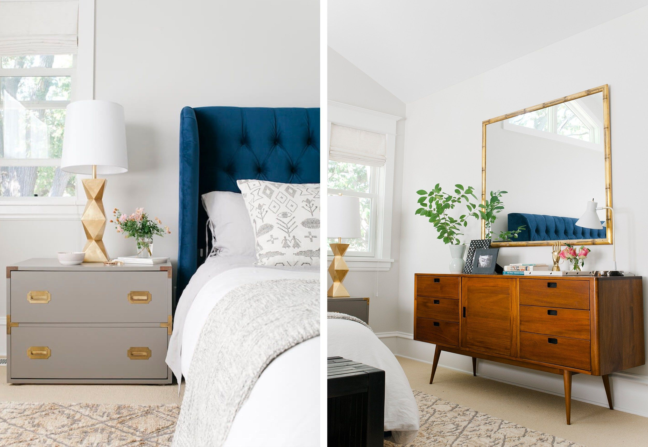 Power Couples 22 Perfect Dresser Nightstand Combos For Your Bedroom Dresser As Nightstand Bedroom Night Stands White Bedroom Furniture