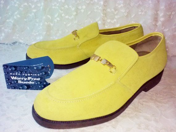 Vintage Lemon Meringue Boss Mens Hush By Naturesuniquebotique Mens Hush Puppies Hush Puppies Shoes Vintage Shoes