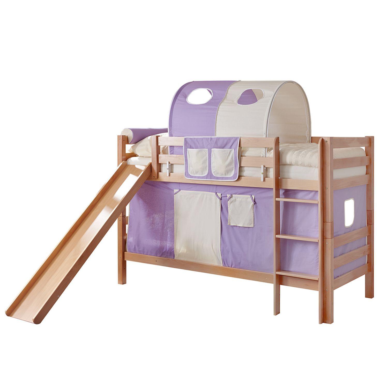 etagenbett lupo lila / beige - buche, ticaa jetzt bestellen unter ... - Kinderzimmer Lila Beige
