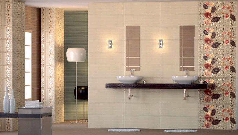 Revestimientos cerámicos para cuartos de baño, estancias decoradas ...