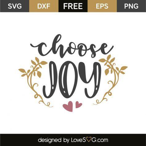 Download Choose joy | Choose joy, Cricut craft room, Joy