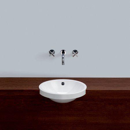 runde vasken på badet