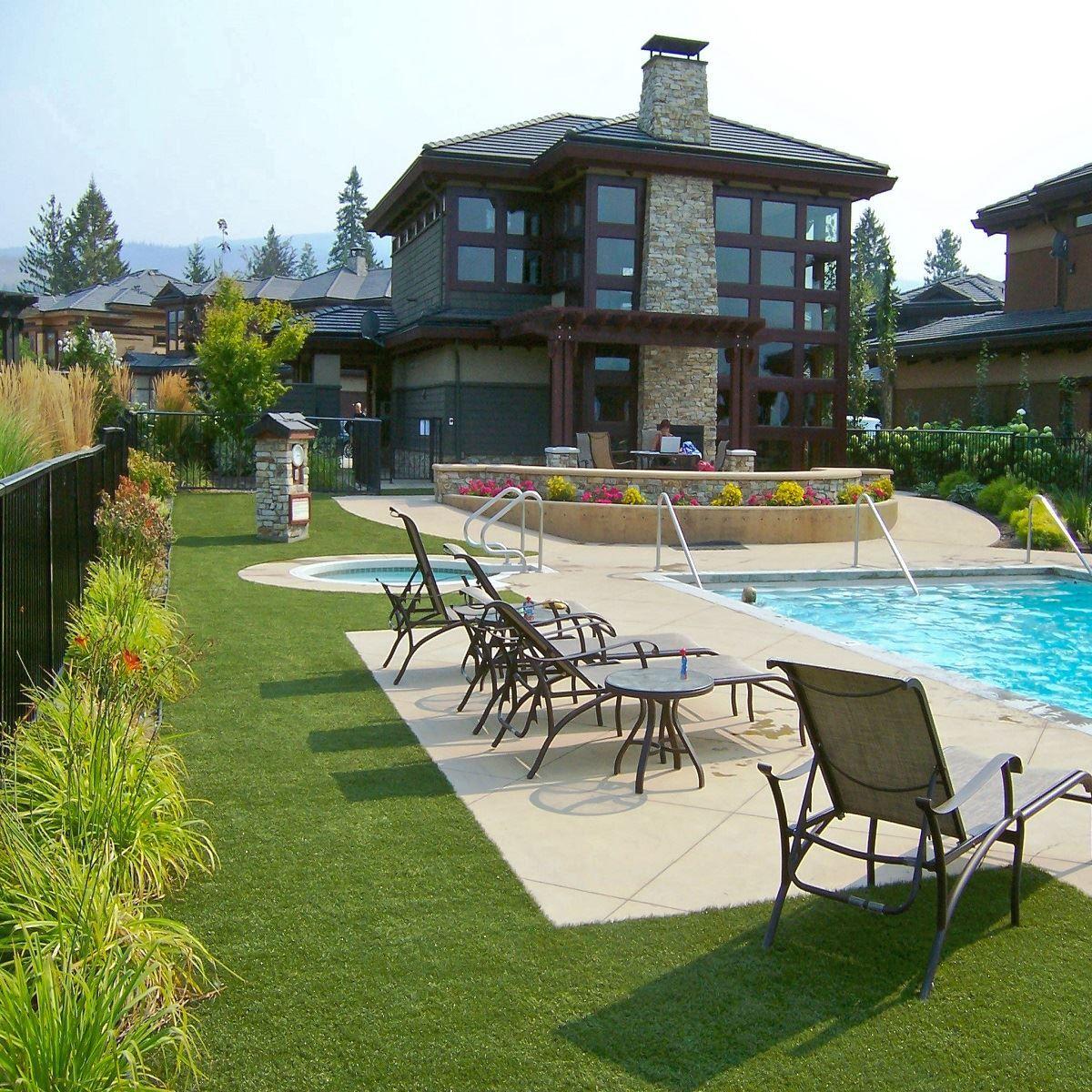 Low Maintenance Backyard, Lawn, Landscape