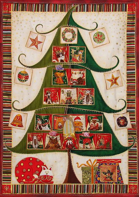 Advent Calendar by JIGGS IMAGES, via Flickr~~~ how cute!!!!!!