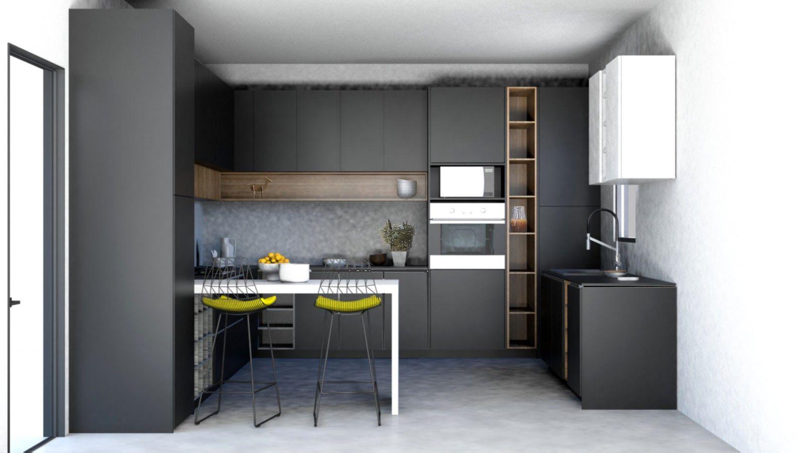 Allwood kitchen design New BLACK KITCHEN DESIGN for