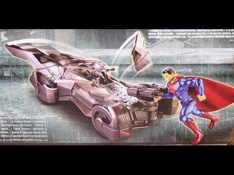 """Batmóvil de la película """"Batman v Superman"""", Mattel DHY29"""