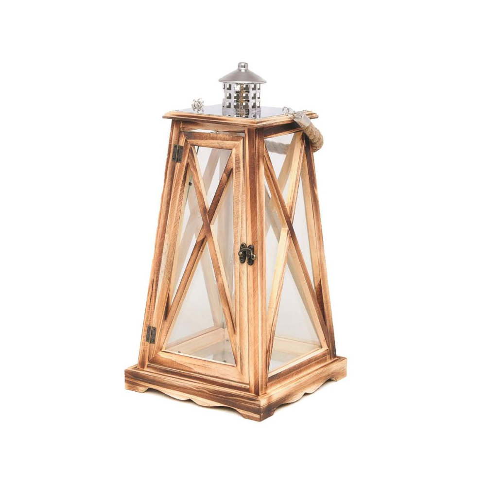 Latarenka 71 X 36 X 36 Cm Valetta Drewniana Brazowa Latarenki Pochodnie I Lampiony W Atrakcyjnej Cenie W Sklepach Leroy Me Ceiling Lights Home Buying Lamp