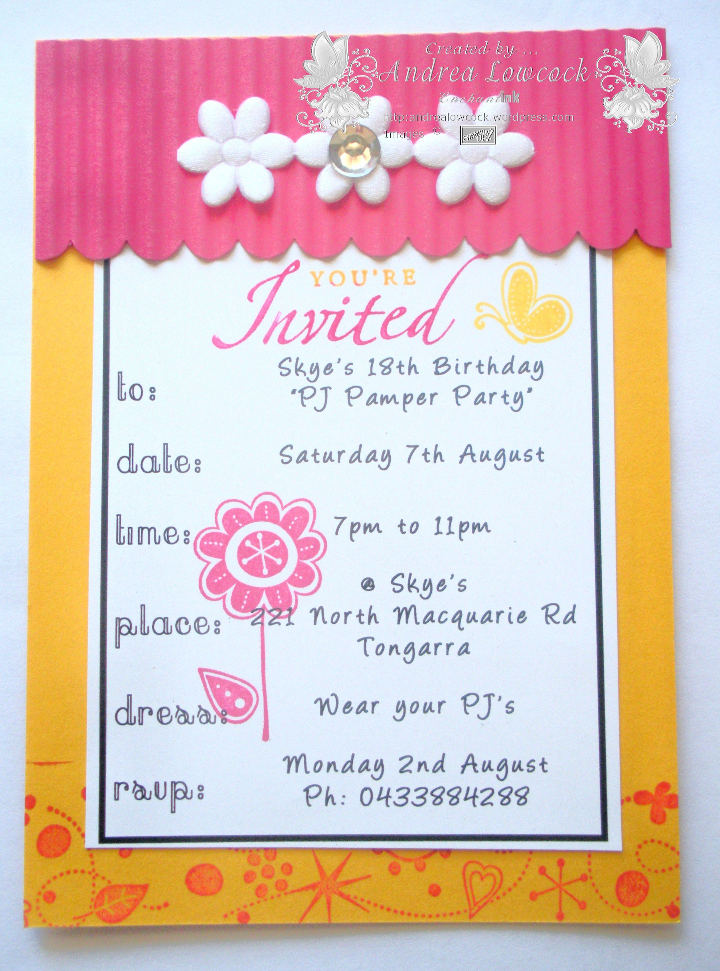 Hy Birthday Invitation Cards With