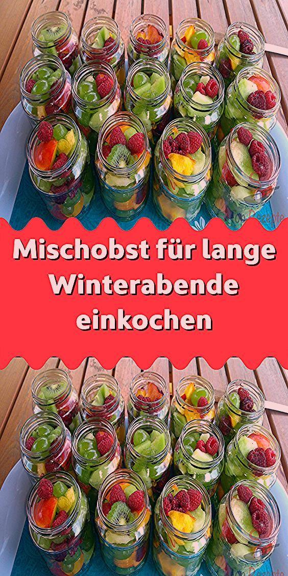 Photo of Mischobst für lange Winterabende einkochen