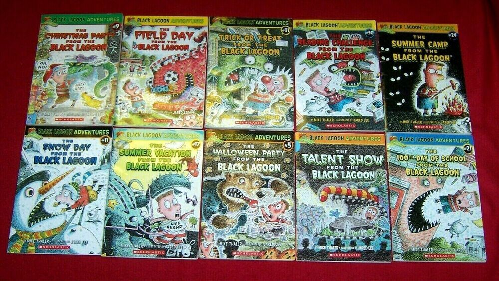 Black lagoon 10 chapter books guided reading n rl 2nd 3rd