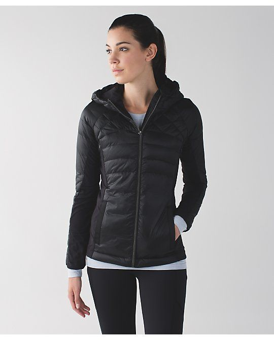 Down For A Run Jacket Black sz 12 | Lululemon Jackets | Pinterest ...