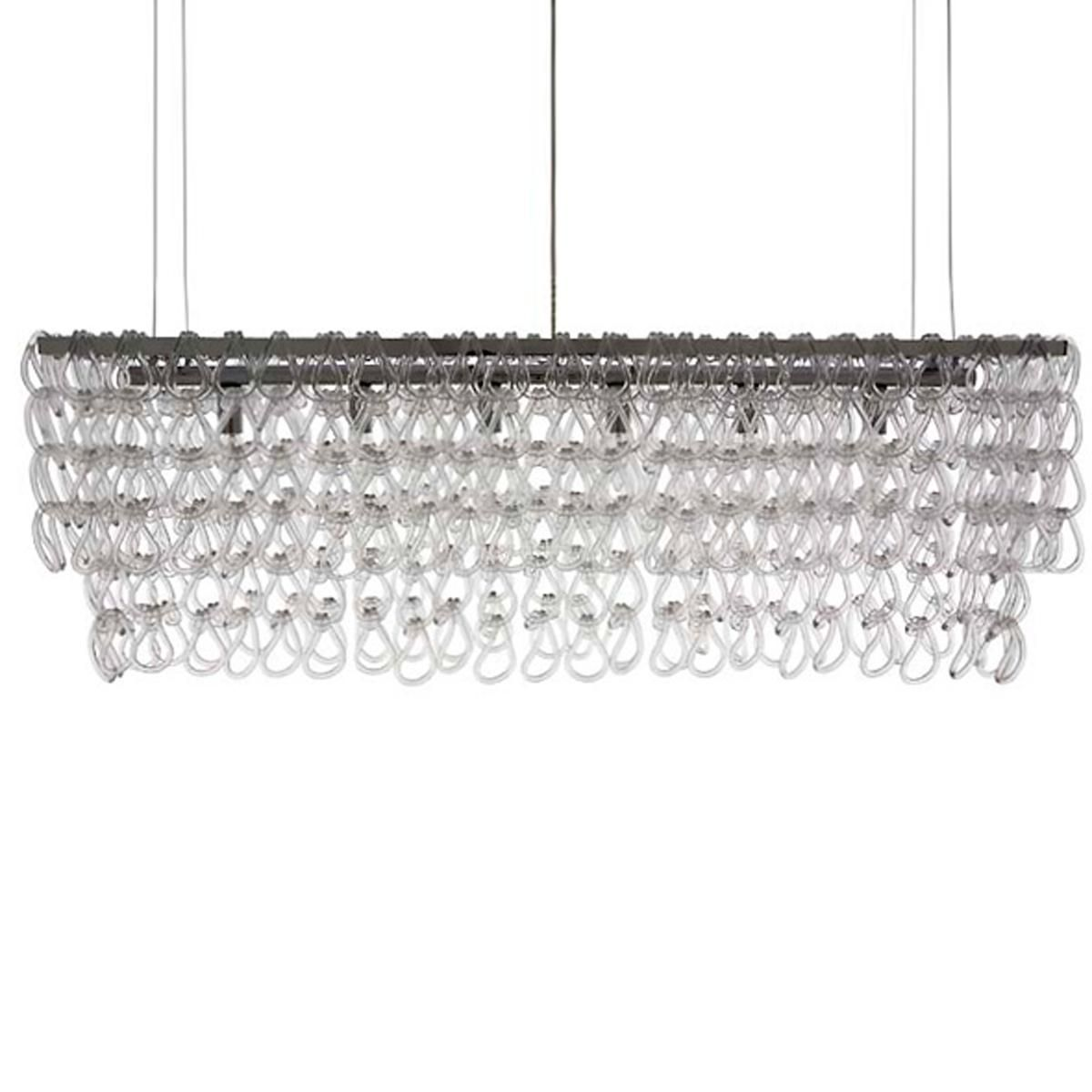 Glass Chain Island Chandelier Large Large Pendant Lamp Clear Glass Pendant Light Large Pendant Lighting