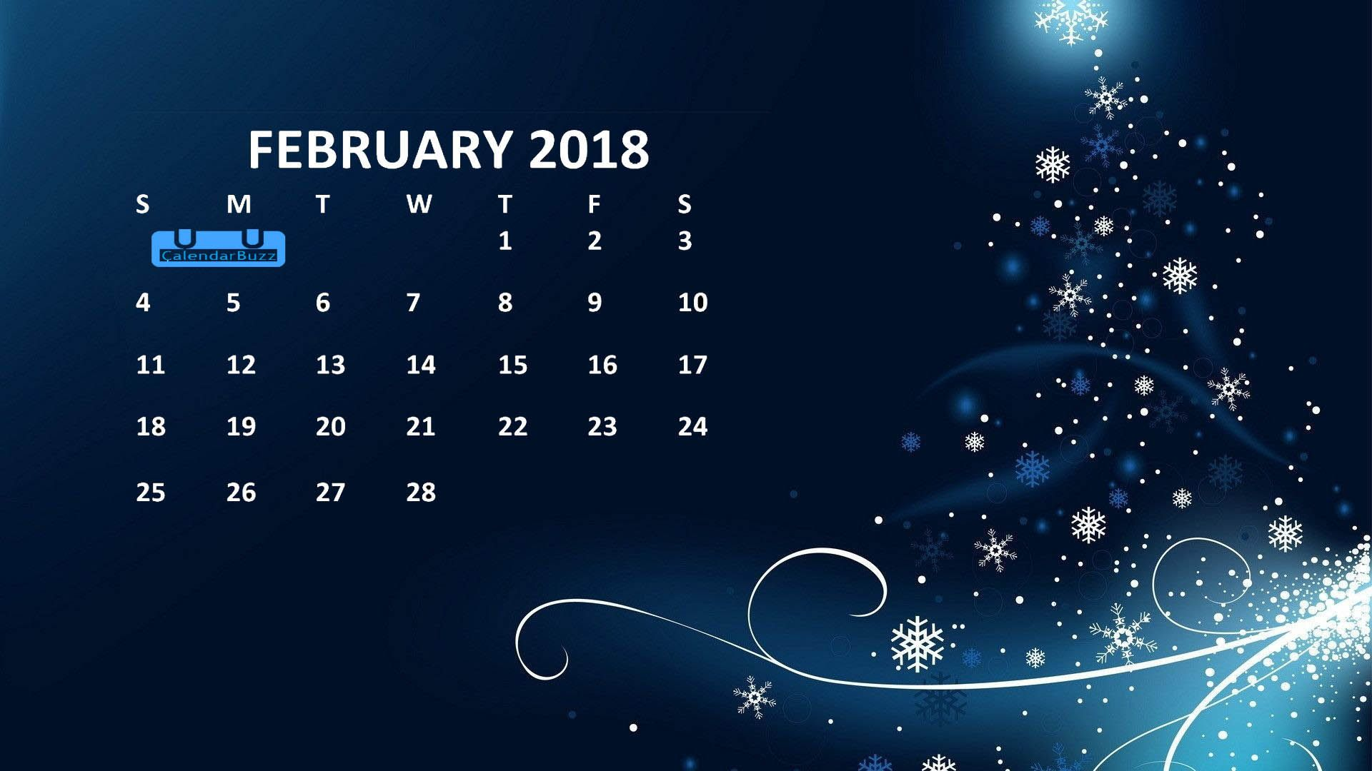 February Calendar Wallpaper Phone : February calendar hd wallpaper