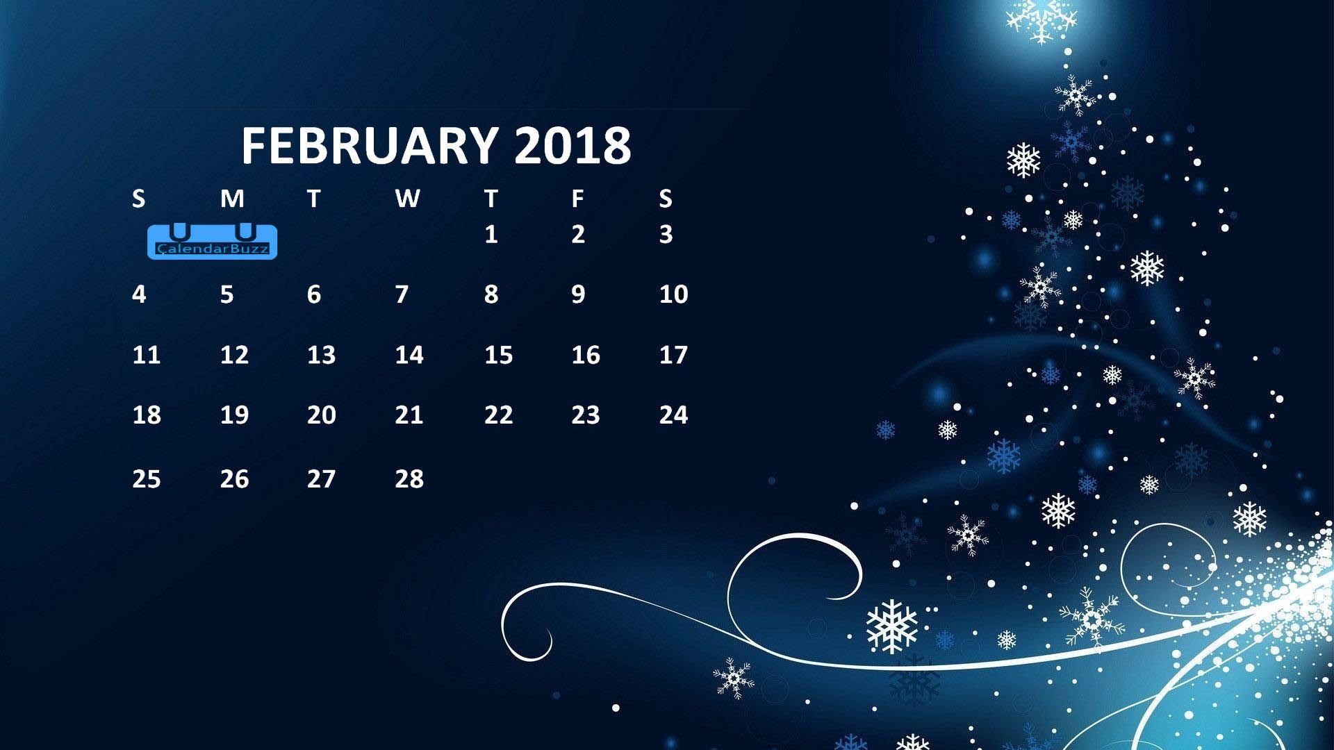 february 2018 calendar hd wallpaper 2018 calendar