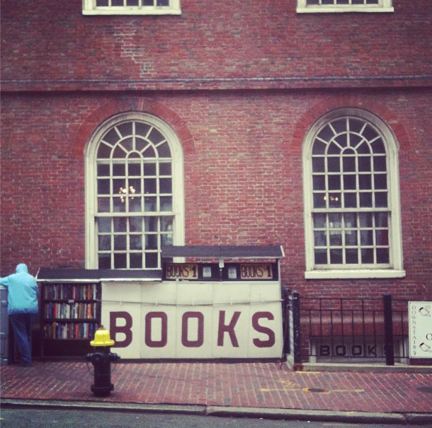 Bookstore downtown Boston instagram.com/mathildepit