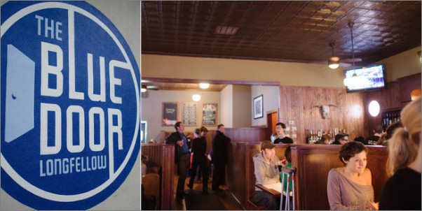 The Blue Door Pub St Paul Mn Diners Drive Ins Dives Blue Door Pub Blue