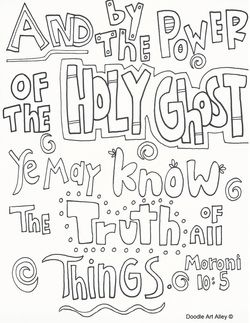 January 2016 Scripture Quote Coloring Pages Coloring Book Pages