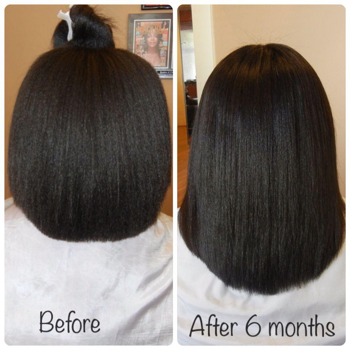 MsKibibi's 6 months hair journey length check. Learn how