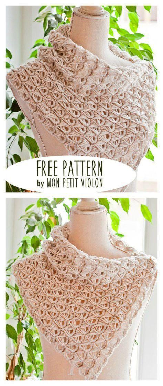 Free Broomstick Lace Cowl Crochet Pattern Crochetscarf Crochet