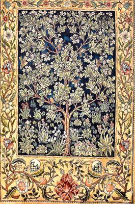 Heaven And Earth Designs Garden Of Delight Morris Cross Stitch Pattern Tree Of Life Tapestry Needlepoint Patterns Cross Stitch Patterns