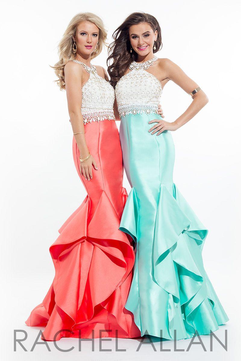 Prom Dresses | RACHEL ALLAN | Style - 7068 | gowns | Pinterest ...