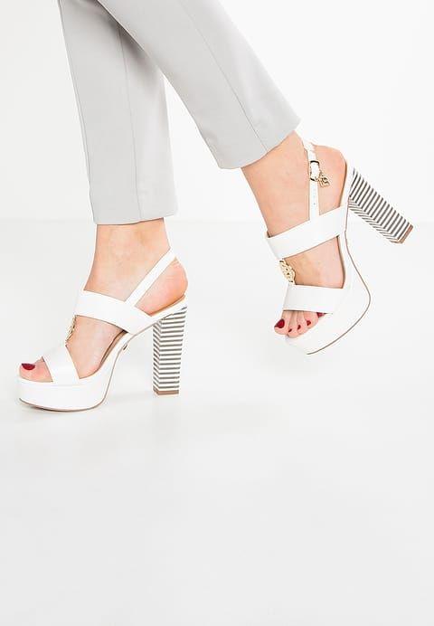 chaussure a talon blanche zalendo