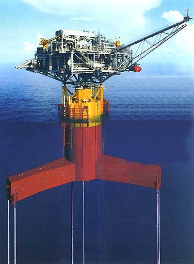 water well diagram schematic 01 chevy cavalier radio wiring morpeth tension leg platform | offshore pinterest