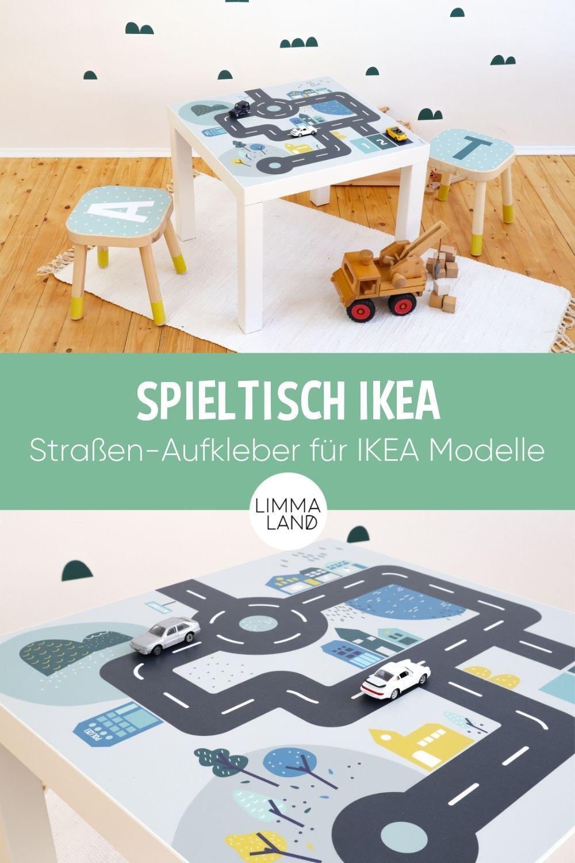 Spieltisch Autos Kindertisch Zum Spielen Autotisch Spieltisch Fur Kleine Auto Fans Mit Dieser Mobelfolie Kannst Du Versch Spieltisch Ikea Spieltisch Und Ikea Tisch