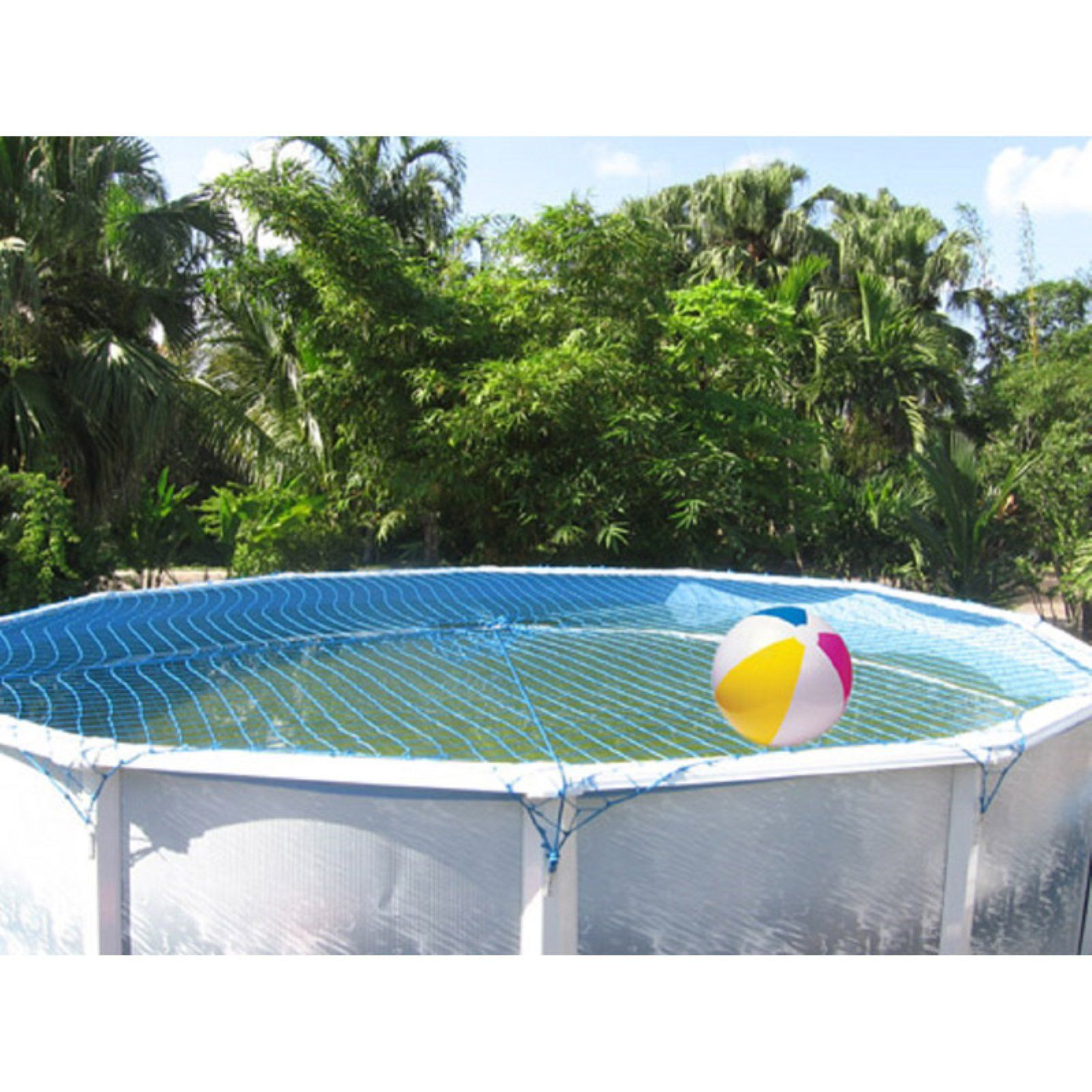 Water Warden Pool Safety Net Cover For Above Ground Pool Pool Safety Swimming Pool Safety Above Ground Swimming Pools