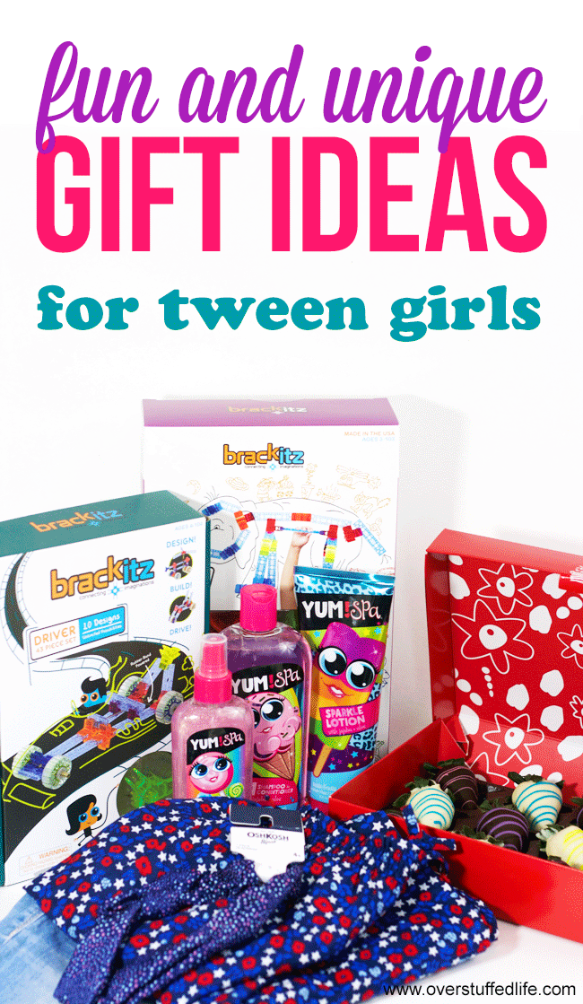 Fun and unique gift ideas for tween girls tween gifts tween fun and unique gift ideas for tween girls negle Choice Image