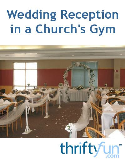 Keeping the decorating costs down and creating an elegant setting can be a challenge in a gymnasium. This is a guide about wedding reception in a church's gym.
