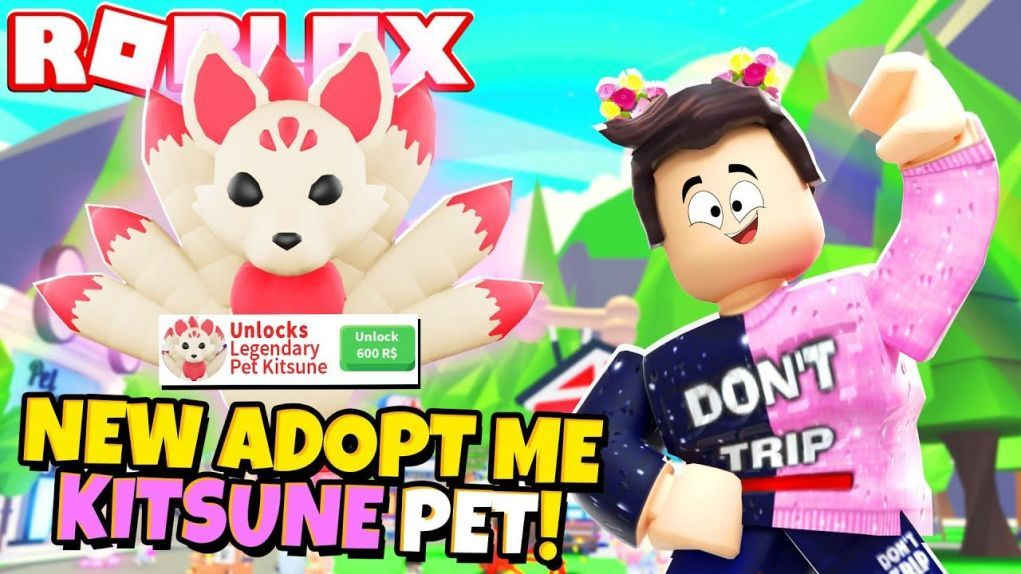 NEW! Adopt Me Kitsune Robux Only Pet (Roblox) in 2020