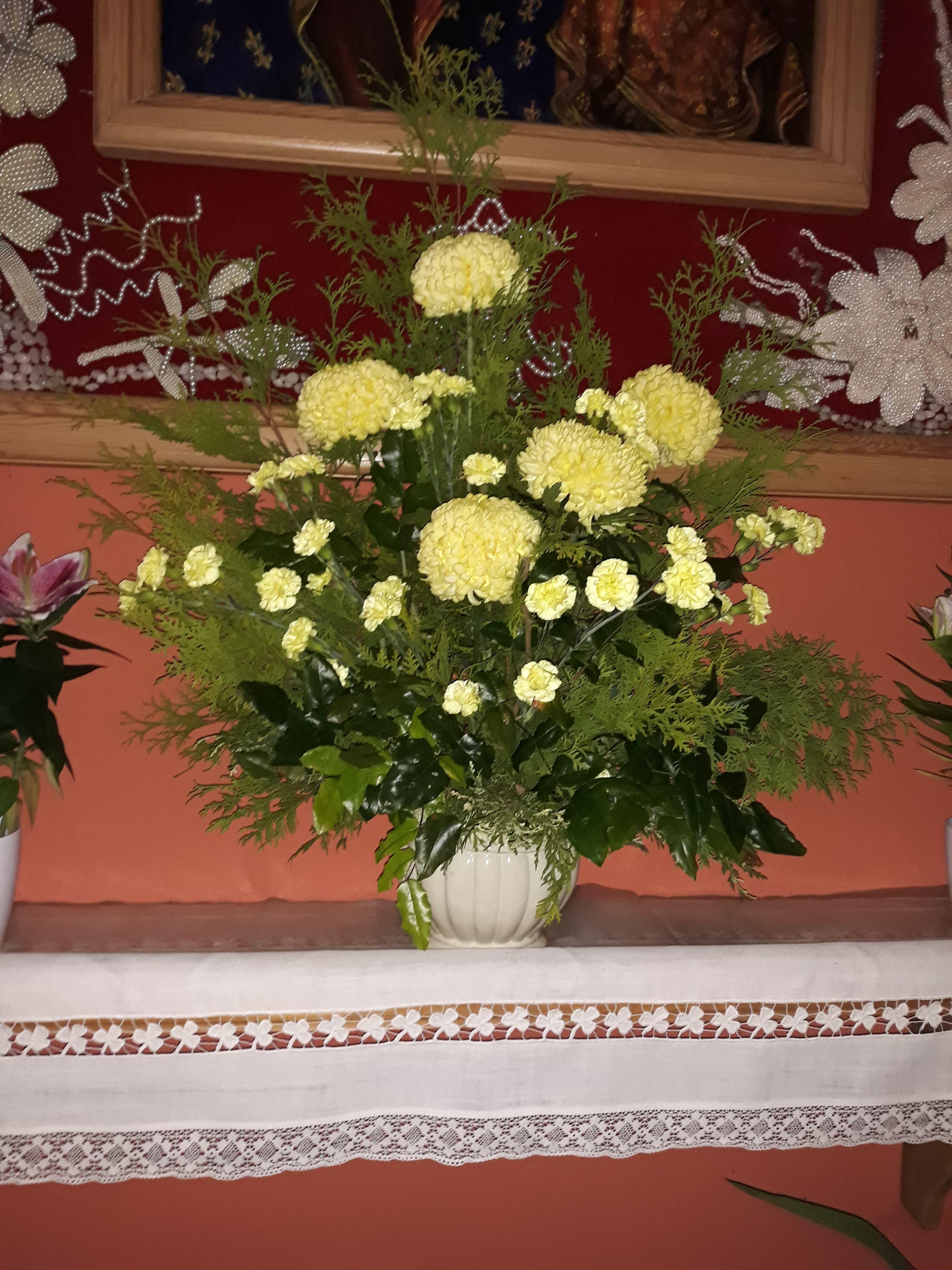 Dekoracja Oltarza Listopad Altar Arrangement Arrangement Altar